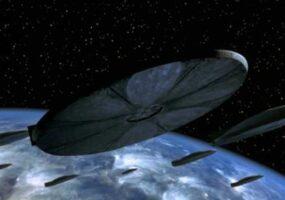 Флот из сотен НЛО, приближающихся к Земле