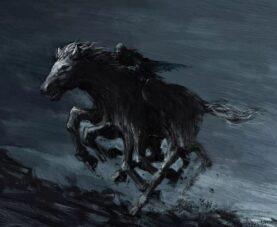 Слейпнир: мифический восьминогий конь Одина