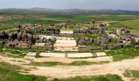 Храм Айн-Дара: тайна гигантских следов?