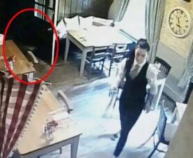 Призрак девушки в английском пабе попал на камеру