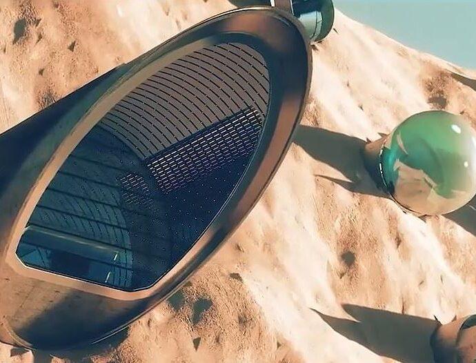 Город Нюйва: первый город на Марсе.