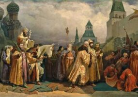 Вербное воскресенье в средневековой Москве