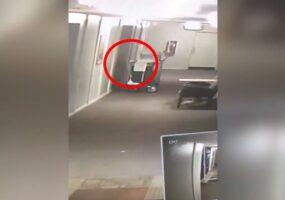 Теневые люди в отеле «Призрак орлиного гнезда» (видео)