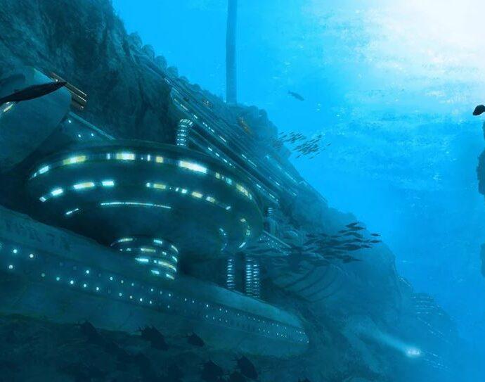На дне океана может быть инопланетная цивилизация.