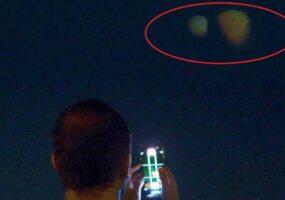 Загадочные планеты появились в ночном небе Дубая