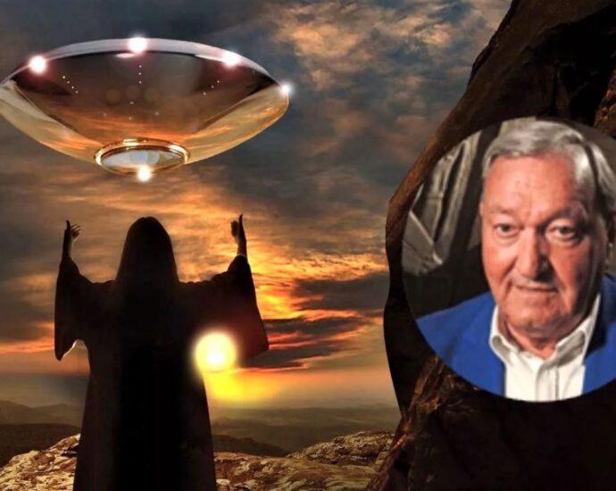 Теория древних инопланетян Эриха фон Даникена.