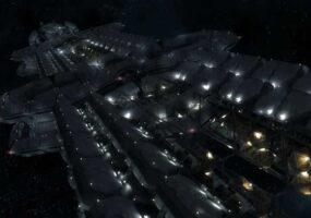 «Чужой» корабль, протяженностью 3200 км