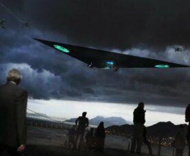 НЛО: всплеск наблюдений треугольника