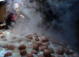 Китайское лакомство: вареные яйца — рецепт!