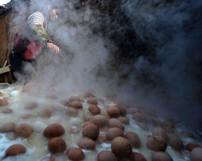 Китайское лакомство: вареные яйца - рецепт!