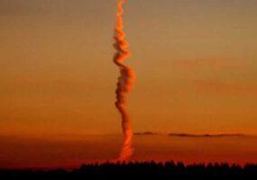 Таинственное облако над Стоунхенджем