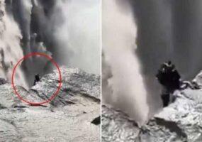 Эльфы существуют?! Видео у водопада в Исландии