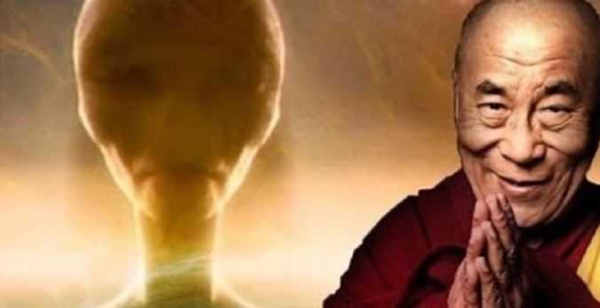 Далай-лама: «посетители из других галактик такие же, как мы».