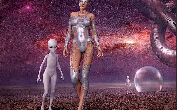 Саймон Паркс: инопланетяне хотят заселить Землю гибридами.