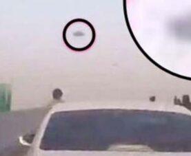 НЛО в Китае: сотни водителей впадают в панику