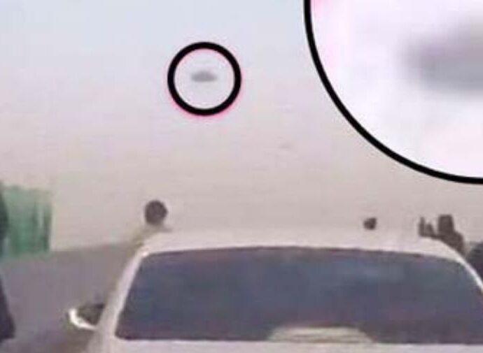 НЛО в Китае: сотни водителей впадают в панику.