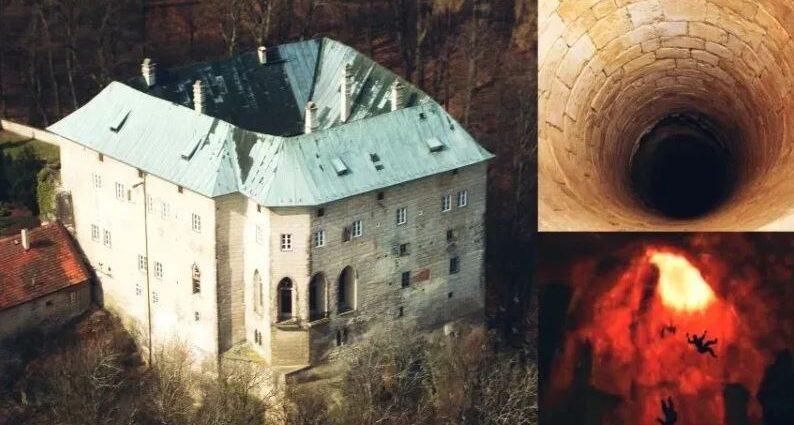Замок Гоуска - настоящие врата в ад.