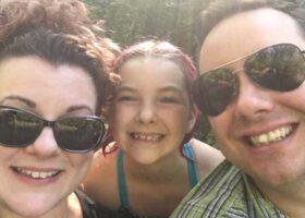 Дэниел Портер забыл свою жену и 10-ти летнюю дочь