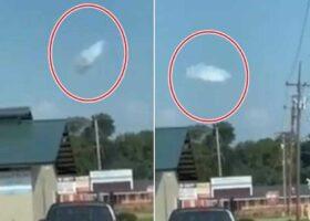 Живые облака, или замаскированный НЛО?