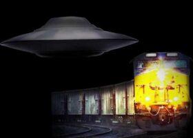 Инцидент, когда НЛО тащил поезд в СССР более 1 часа