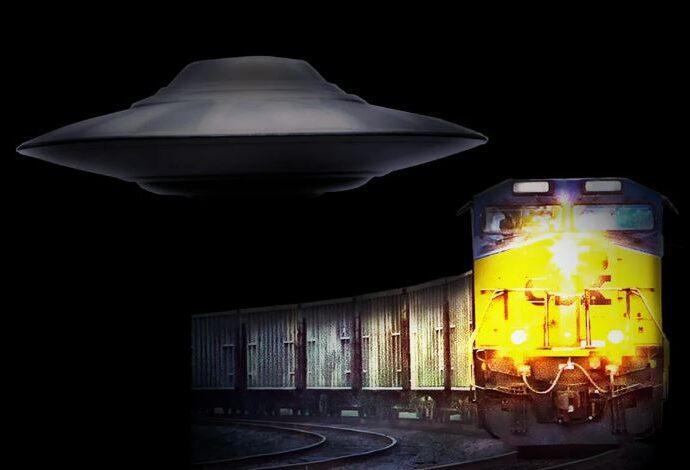 Инцидент, когда НЛО тащил поезд в СССР более 1 часа.