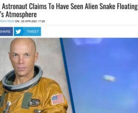 НЛО в форме змей: заявил астронавт Стори Масгрейв