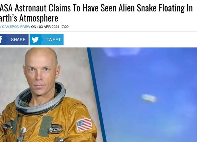 НЛО в форме змей: заявил астронавт Стори Масгрейв.