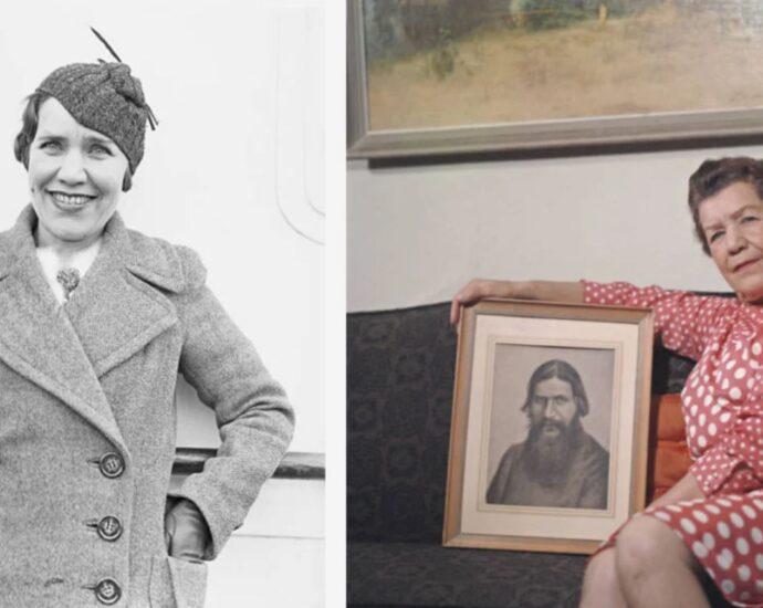 Мария Распутина: дочь Григория Распутина.