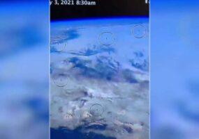 Возле МКС обнаружен флот из 10 НЛО