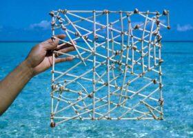 Стик-карты Маршалловых островов для навигации