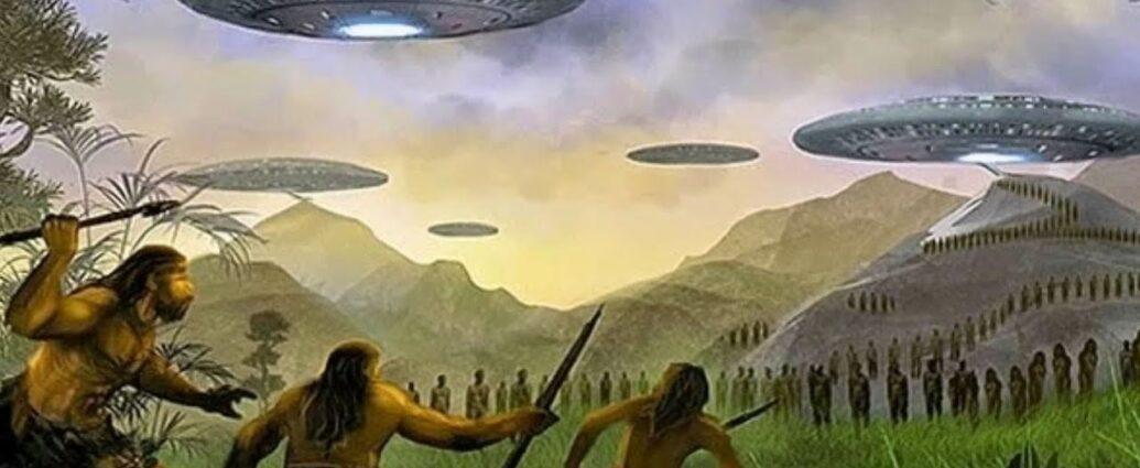История встречи с потомком древних пришельцев.