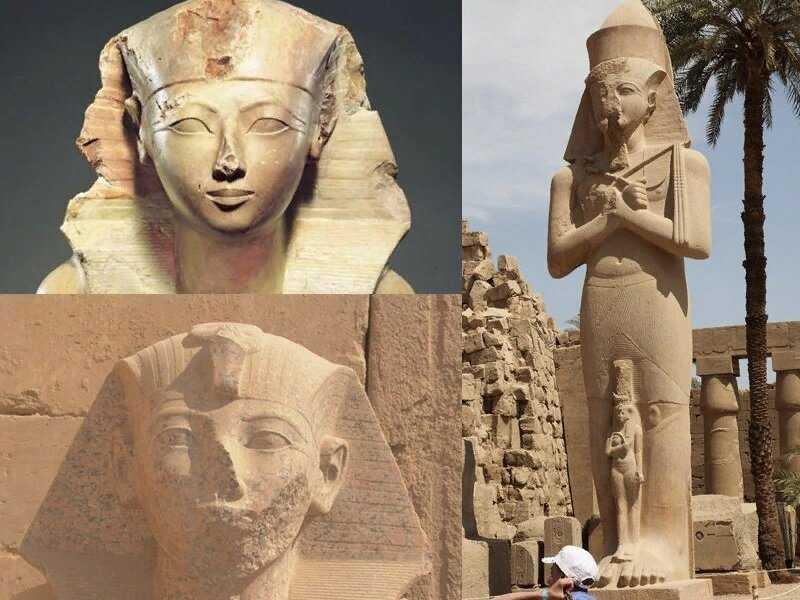Ученые выяснили, кто и почему ломал носы древнеегипетским статуям.