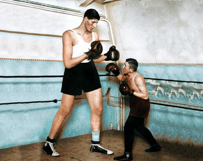 Гогя Миту: самый высокий боксер в истории. Потомок древней расы?