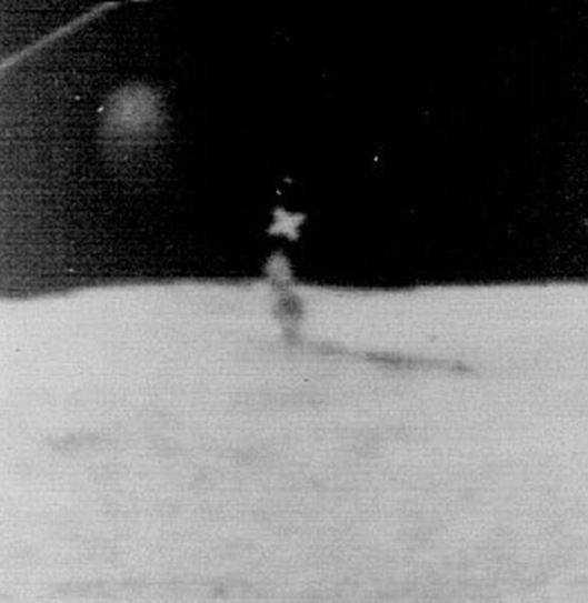 Инопланетные постройки на Луне.