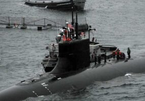 Подводная лодка США столкнулась с НПО в Китайском море