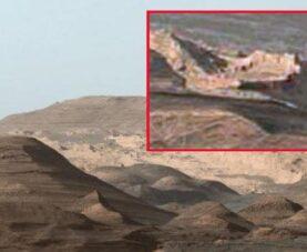 Древние сооружения на Марсе: регион Эллада Планиция
